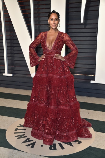 Tracee Ellis Ross Beaded Dress