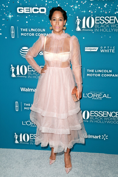 Tracee Ellis Ross Sheer Dress