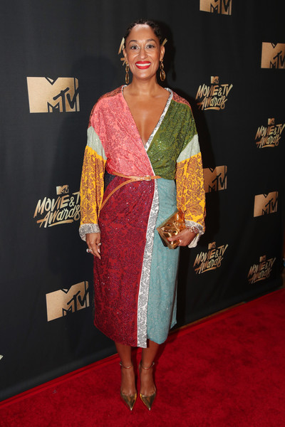 Tracee Ellis Ross Wrap Dress