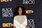 Tracee Ellis Ross Fringed Dress