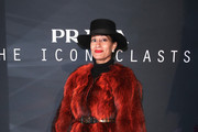 Tracee Ellis Ross Fur Coat