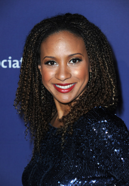 Tracie Thoms Medium Curls