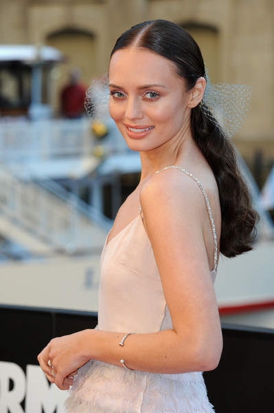 More Pics of Laura Haddock Princess Gown (10 of 15) - Laura Haddock Lookbook - StyleBistro