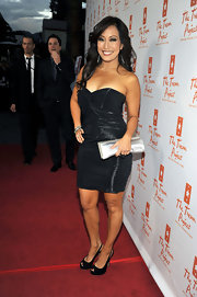 Carrie Ann Inaba dazzled on the red carpet in a pair of black platform slingbacks.