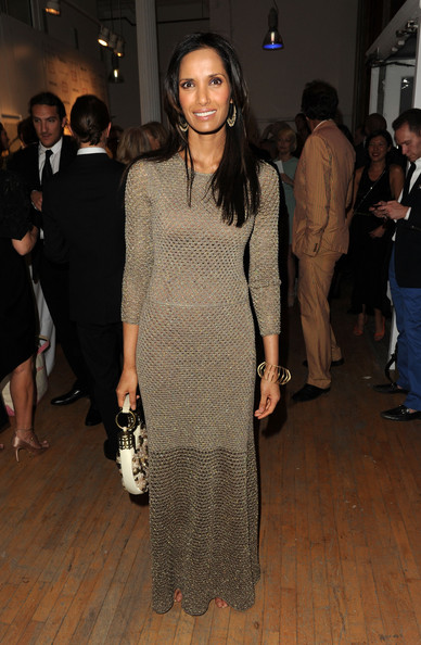 More Pics of Padma Lakshmi Evening Dress (1 of 3) - Padma Lakshmi Lookbook - StyleBistro