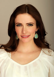 Bitsie Tulloch wore her silky auburn hair in smooth loose waves at the 2012 Tribeca Film Festival.