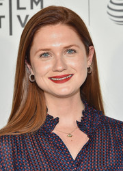 Bonnie Wright showed off sleek tresses at the Tribeca N.O.W. Showcase B.