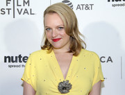 Elisabeth Moss looked charming with her shoulder-length waves at the Tribeca Film Fest premiere of 'Tokyo Project.'