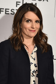 Tina Fey styled her hair with feathery waves for the Tribeca Talks Storytellers event.