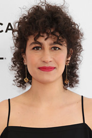 Ilana Glazer attended the Tribeca Film Fest screening of 'Time Traveling Bong' wearing cute short curls.