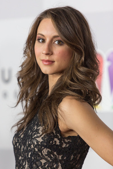 Troian Bellisario Long Curls