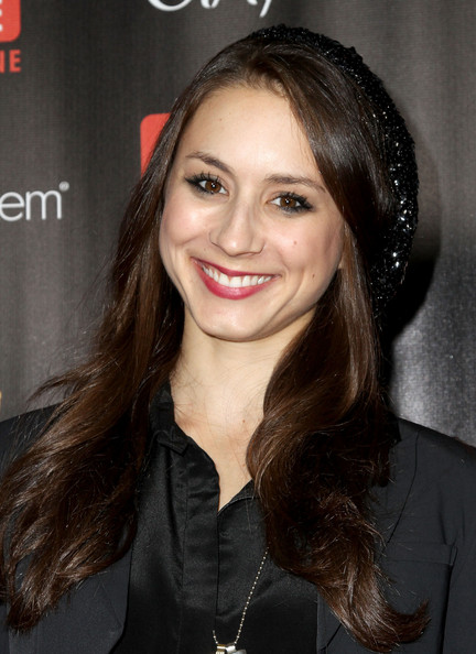 Troian Bellisario Long Wavy Cut