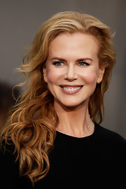 Nicole Kidman attended the 2012 Tropfest in Syndey, Australia wearing her strawberry blond locks in casual waves and curls.