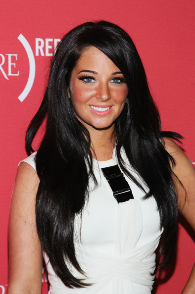 Tulisa Contostavlos Layered Cut