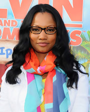 Garcelle Beauvais wore her hair in long soft waves for the 'Alvin and the Chipmunks: Chipwrecked' DVD release party.