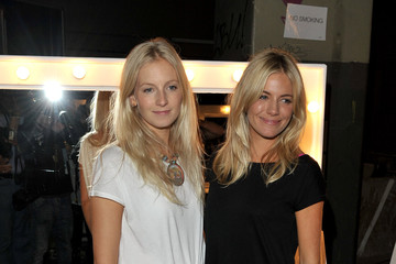 Sienna Miller Savannah Miller Twenty8Twelve - Backstage LFW Spring/Summer 2011