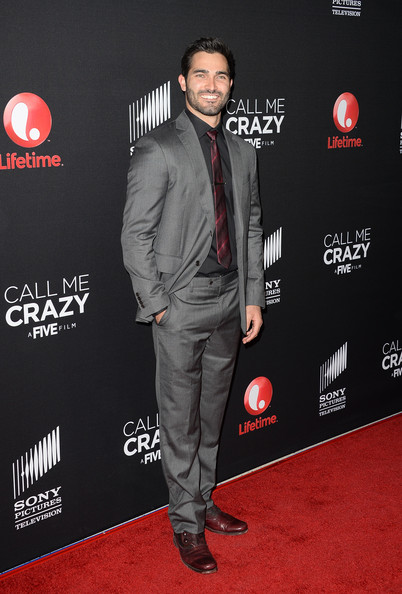 Tyler Hoechlin Men's Suit