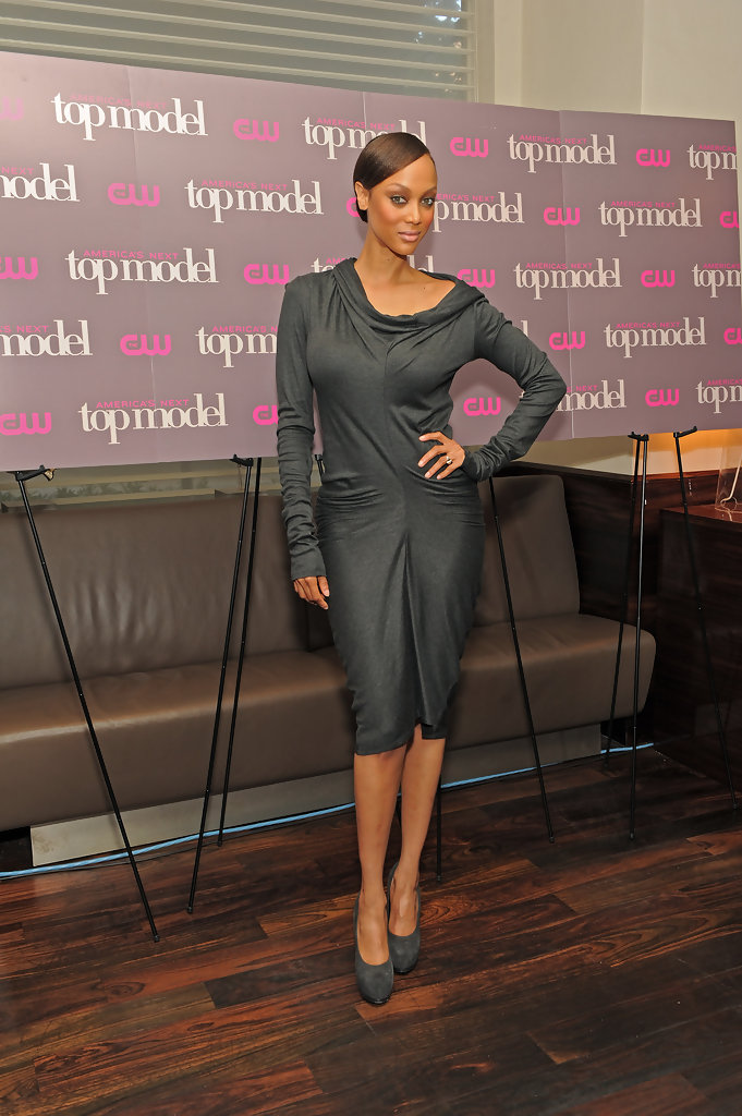 Tyra Banks Cocktail Dress Tyra Banks Looks Stylebistro