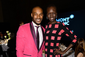 Tyson Beckford Alek Wek Montblanc Celebrates 90 Years Of The Iconic Meisterstuck - Inside
