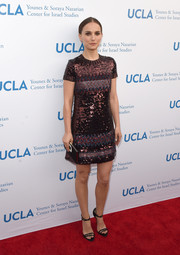 Natalie Portman brought some sparkle to the ULCA Center for Israel Studies gala with this Christian Dior sequined mini.