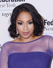 Alicia Quarles kept it ladylike with this curled-out bob at the Signature Gala.