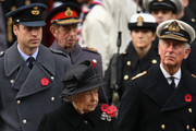 Queen Elizabeth II and Prince Charles Photo