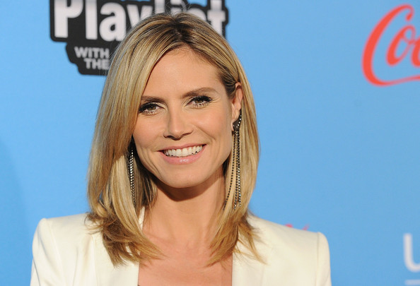 Heidi Klum Hair Styles: More Pics Of Heidi Klum Layered Cut (3 Of 43)