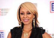 Keri Hilson rocked a two-tone layered cut while attending the VH1 Divas Salute the Troops show.