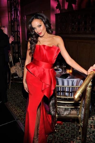 More Pics of Selita Ebanks Red Lipstick (1 of 9) - Selita Ebanks Lookbook - StyleBistro