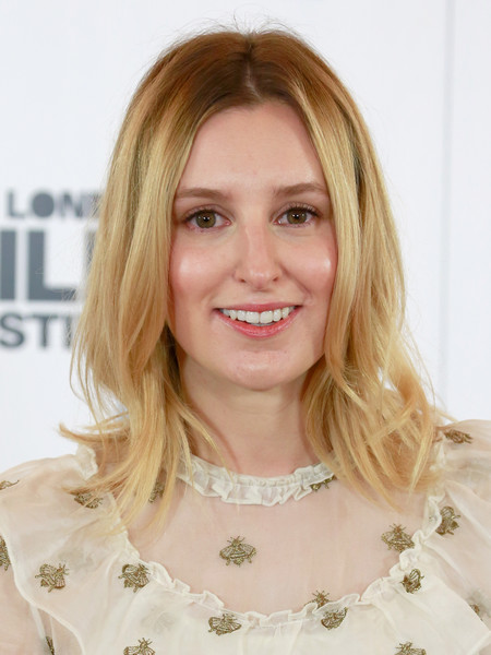 Laura Carmichael attended the BFI London Film Festival photocall for 'A United Kingdom' wearing a cute flippy hairstyle.