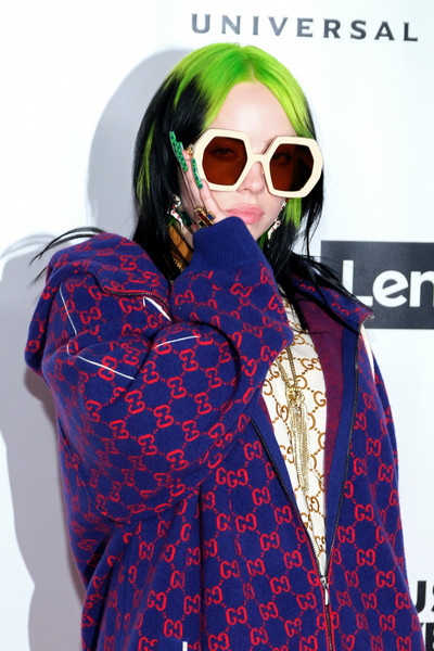 More Pics of Billie Eilish Crosstrainers (1 of 8) - Athletic Shoes Lookbook - StyleBistro [eyewear,sunglasses,outerwear,fashion,cool,glasses,street fashion,magenta,vision care,fashion design,billie eilish,grammy,los angeles,california,party,universal music group,universal music group hosts 2020 grammy,party,grammy awards,hip hop music,musician,grammy award for album of the year,grammy award for record of the year,the recording academy,watch,billie eilish]
