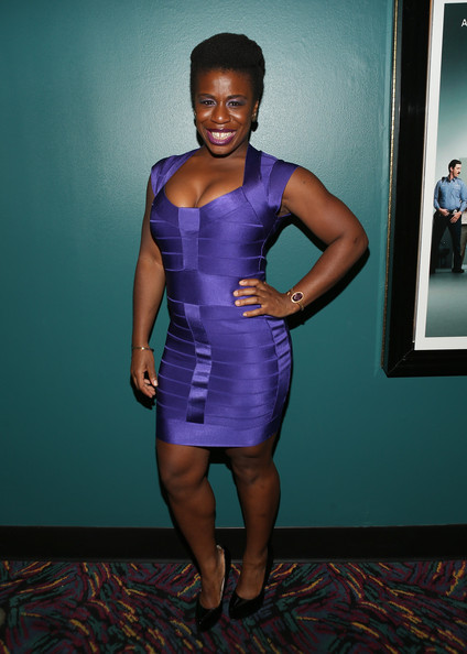 Uzo Aduba Bandage Dress