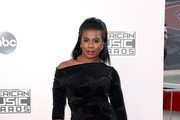 Uzo Aduba Off-the-Shoulder Dress