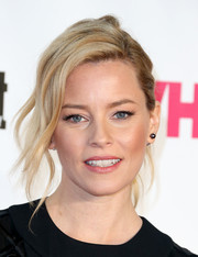 Elizabeth Banks looked gorgeous wearing this messy-glam ponytail at the VH1 Big in 2015 Awards.