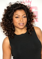 Taraji P. Henson rocked voluminous tight curls at the VH1 Big in 2015 Awards.