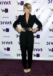 Keri looked fabulously '80s in this black backless jumpsuit at VH1 Divas.