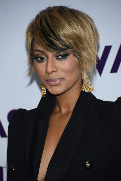 More Pics of Keri Hilson Short Side Part (1 of 20) - Short Hairstyles Lookbook - StyleBistro