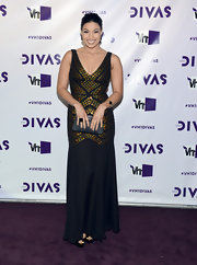 Jordin wore one of her favorite designers on the purple carpet of VH1 Divas.