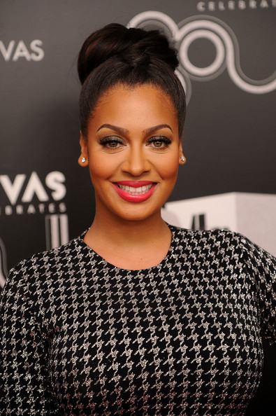 More Pics of La La Anthony Braided Bun (1 of 9) - La La Anthony Lookbook - StyleBistro