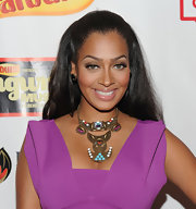 La La Anthony wore her hair in a simple yet gorgeous half-up half-down style at the VH1 Songwriter Music Series.