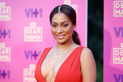 La La Anthony styled her tresses into a center-parted ponytail for VH1's Dear Mama event.
