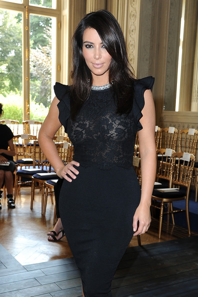 More Pics of Kim Kardashian Little Black Dress (11 of 20) - Kim Kardashian Lookbook - StyleBistro