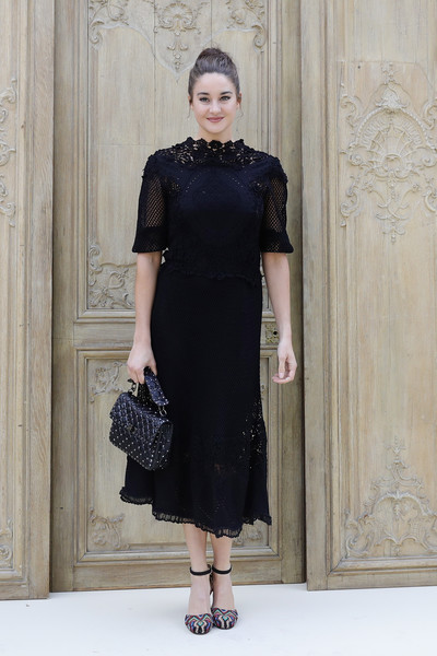 Shailene Woodley at Valentino