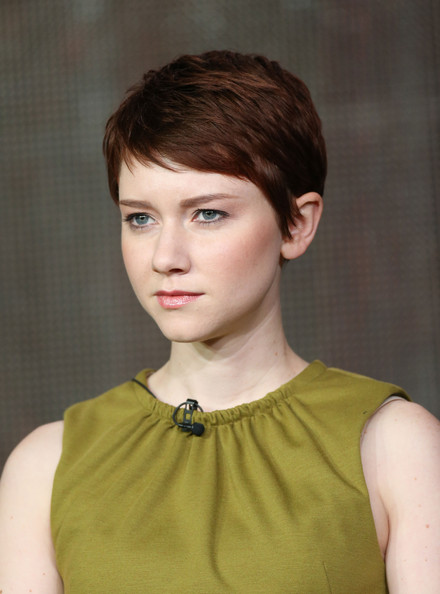 Valorie Curry Pixie [the following,hair,face,hairstyle,chin,eyebrow,beauty,forehead,crop,bob cut,pixie cut,valorie curry,pasadena,california,langham hotel,winter tca,fox,portion,winter tca tour]