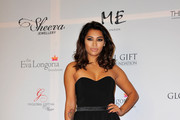 Vanessa White Strapless Dress