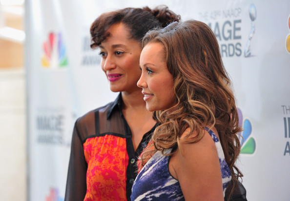 Actors Tracee Ellis Ross and Vanessa Williams attend the 43rd NAACP Image ...