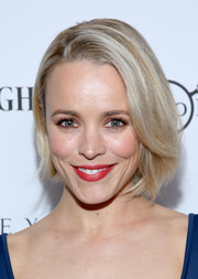 Rachel McAdams attended the 'Spotlight' private dinner wearing this simple yet cute bob.