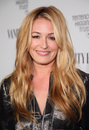 Cat Deeley sported gorgeous lush waves at the Fiat Young Hollywood celebration.