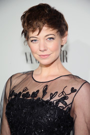 Analeigh Tipton rocked a disheveled pixie at the Fiat Young Hollywood celebration.