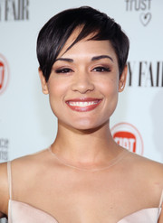 Grace Gealey showed off a very cool pixie at the Fiat Young Hollywood celebration.